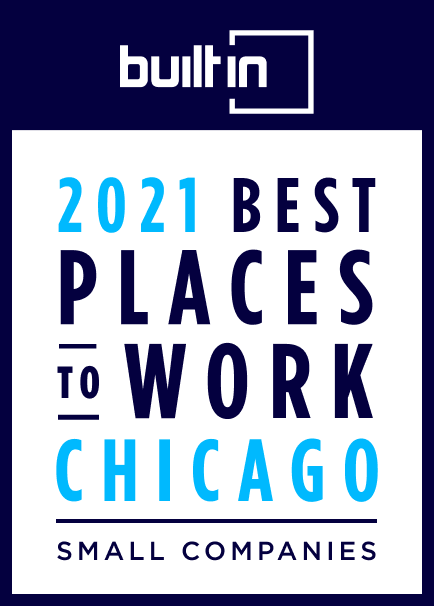 Arrive is proud to be on Built in Chicago's list of best small companies to work